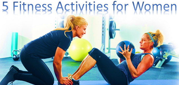 featured image for fitness activities that make women healthier
